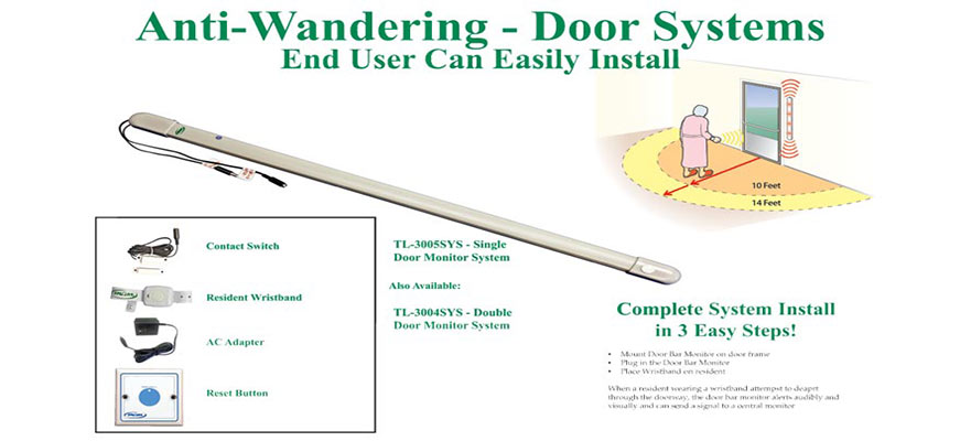 Anti Wandering Door System Fall Prevention And Anti