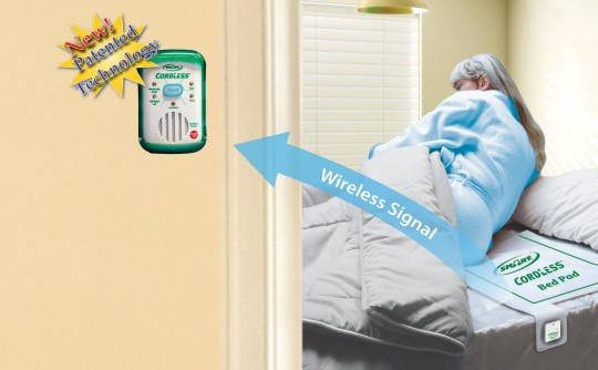 Fall Prevention For Seniors Bed Exit Alarms For The Elderly