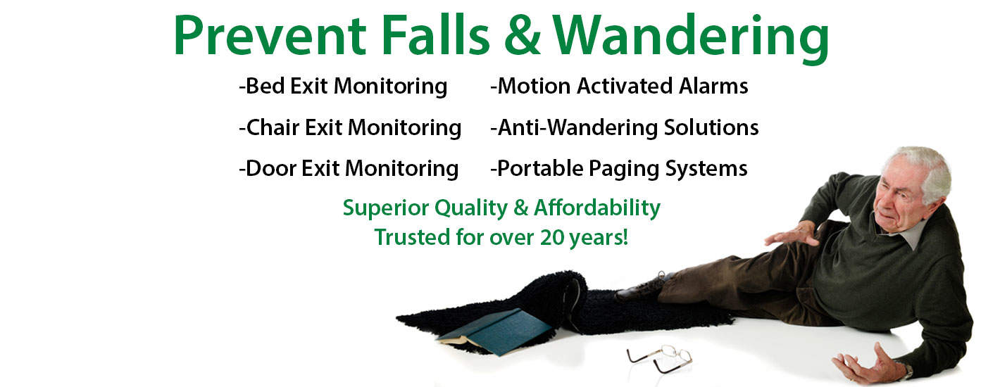 Senior Fall Prevention Bed Exit Alarms For The Elderly