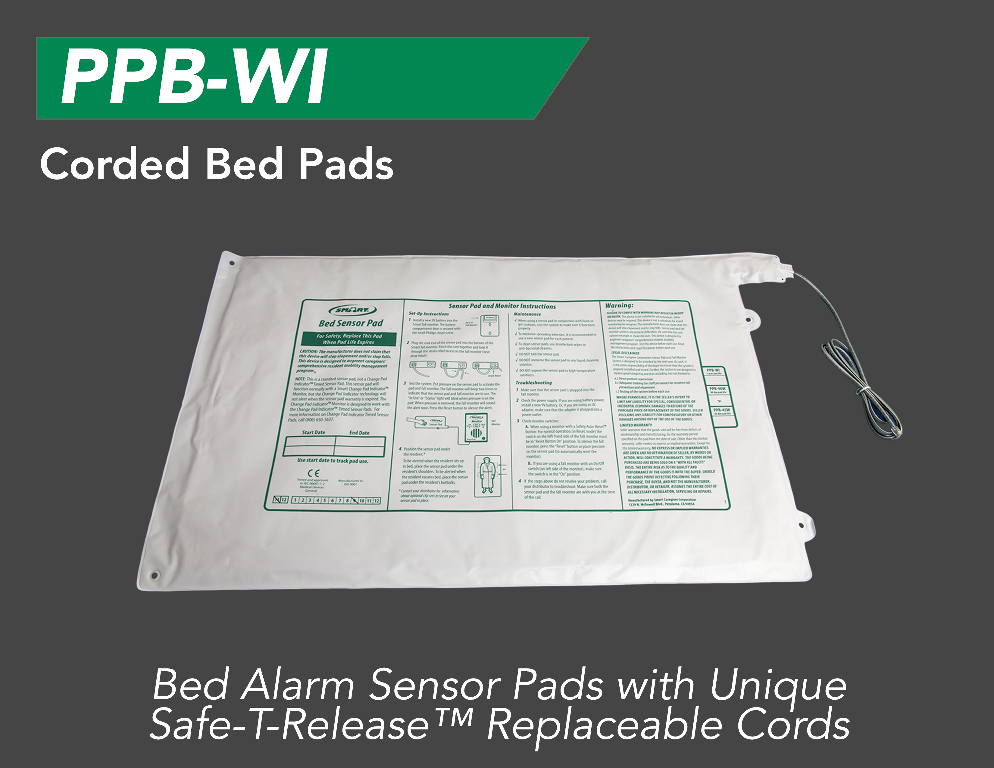 Bed Alarm Pads For Seniors Efficient Monitoring Smart